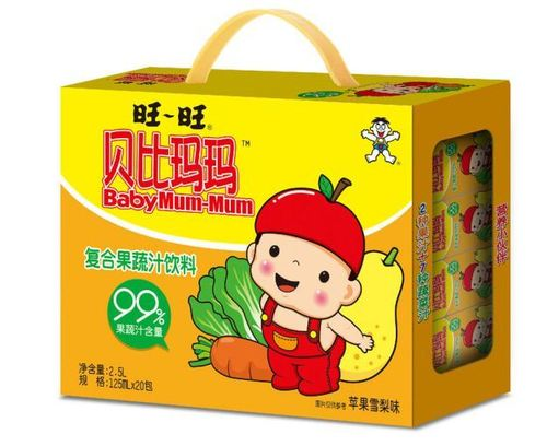 Baby Mum-Mum Fruit Vegetable Juice Drinks