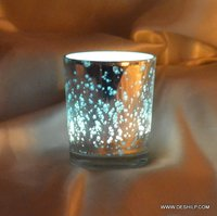 T LIGHT VOTIVE WITH SILVER FINISH