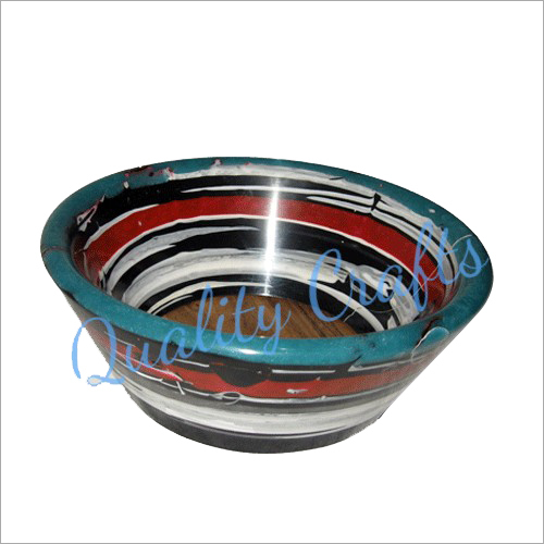 Multicolored Resin Bowls