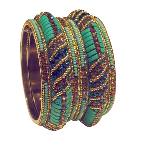 Ladies Beaded Bangle Set