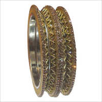 Ladies Brass Bangle