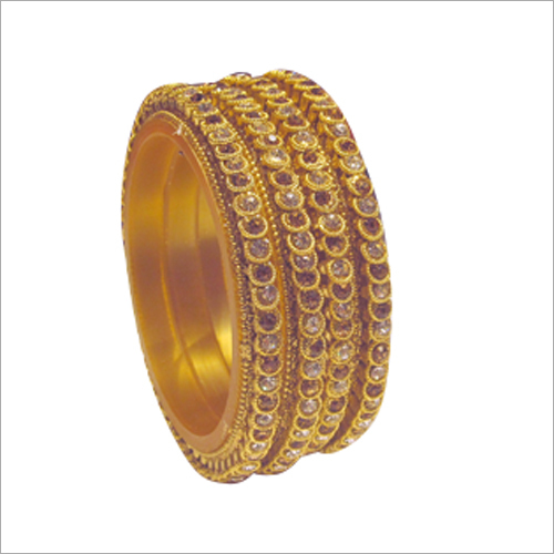 Ladies Brass Bangle Set