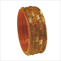 Ladies Party Wear Glass Bangle Set