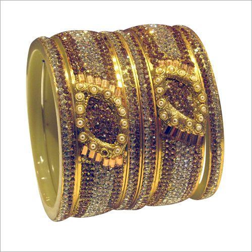 Ladies Studded Designer Bangle Set
