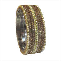 Ladies Fancy Studded Bangle Set