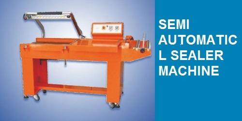 SEMI AUTOMATIC L SEALER MACHINE.
