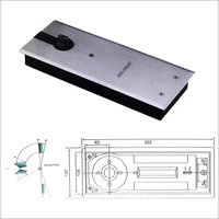Double Spring Floor Hinge