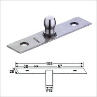 Top Pivot Door Patch Fitting
