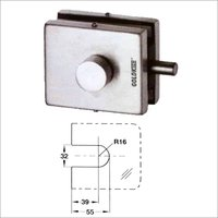 Glass Door Latch Lock
