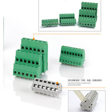 Green PCB MOUNT Connector