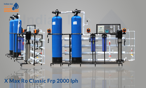 2000 LPH RO Water Plant