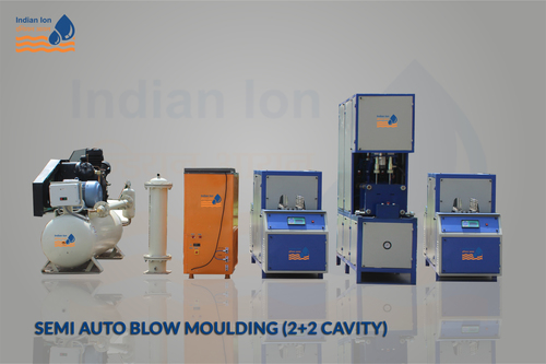 Semi Auto Blow Moulding (2+2 Cavity)