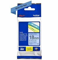 Brother Genuine Black on Blue P-Touch Tape(TZe-541)