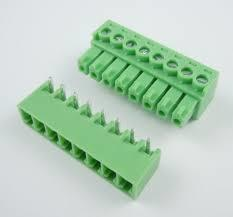 Terminal Block Green Pluggable