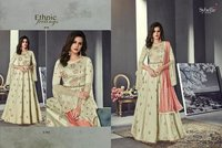 Designer Anarkali Silk Suits