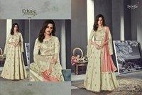 Designer Anarkali Silk Suits