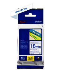 Brother Genuine Blue on White P-Touch Tape(TZe-243)