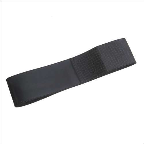 Black Stiching Steering Cover