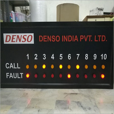 Industrial Andon Display Board