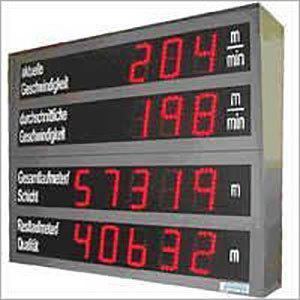 Factory Parameter Display Board