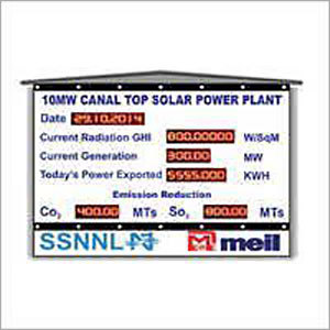 Power Plant Monitoring Display System