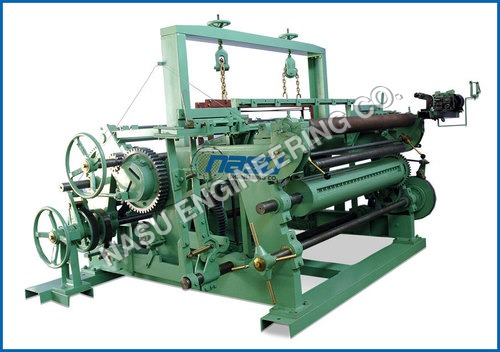 Automatic Wire Weaving Machine