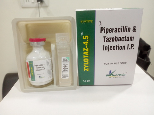 Piperacillin 4 Gm+Tazobactam 500 Mg