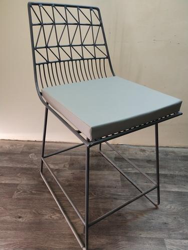 Iron Armless Chair