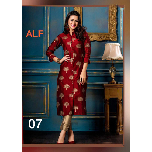 Ladies Straight Designer Kurti
