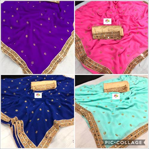 Ladies Colour Full Saree