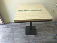 Wooden Squre Ola Table