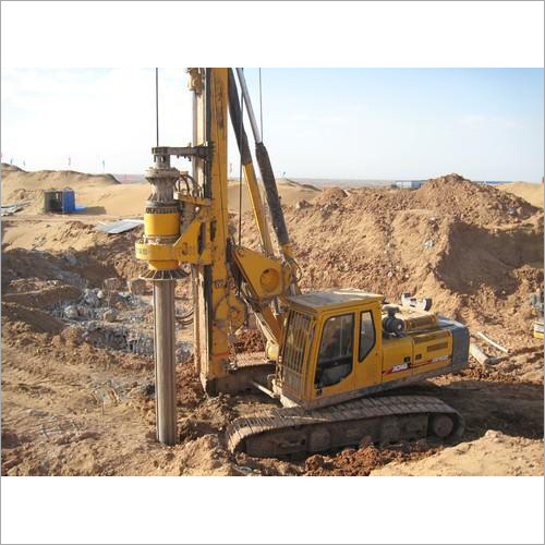 Rotary Bored Piling Machine