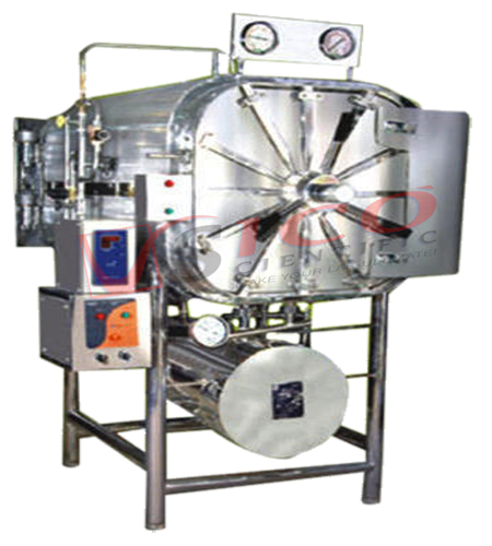 Horizontal Rectangular  High Pressure  Autoclave