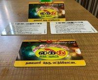 PVC Shopping Cards