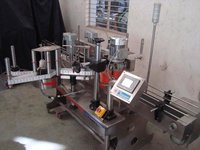 AUTOMATIC SELF ADHESIVE DOUBLE SIDE STICKER LABELING MACHINE