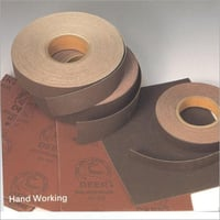 Hand Working Abrasive Paper