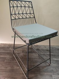 Outdoor Iron Cushion Chair