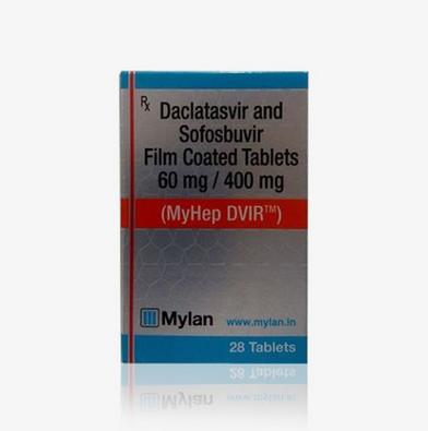 MYHEP DVIR Sofosbuvir 400mg and Daclatasvir 60mg
