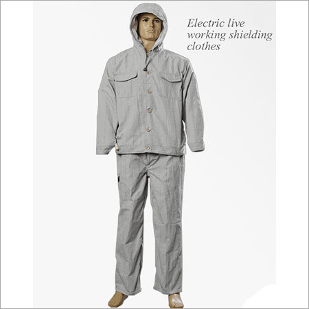 ARC Flash Electrically Conductive Suit