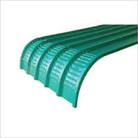 Coated Crimp Curved Sheet