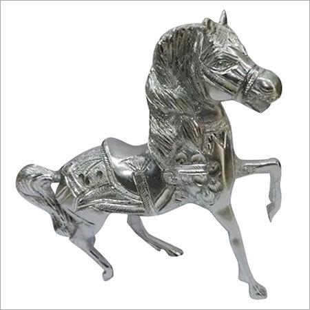 Horse Statue (Silver)