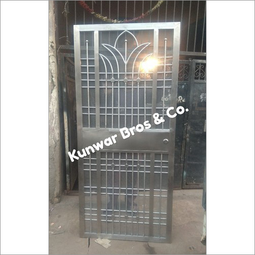 Stainless Steel Entrance Door