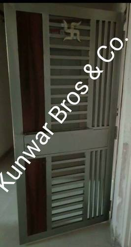 Modern Stainless Steel Door