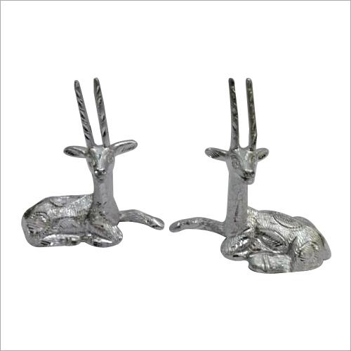 Silver Animal Statue