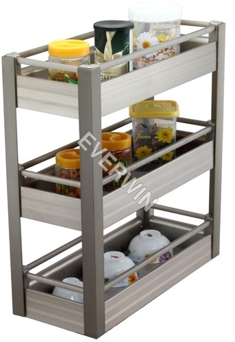 Pullout Basket, Three Shelf Pullout