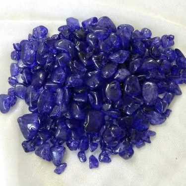 Dark Blue Crystal Chips