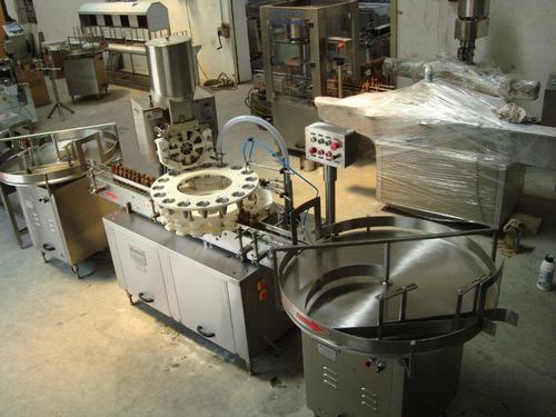 Powder filling machine for Vial