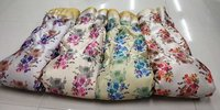 digital print zari satin fabric