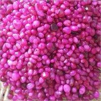 Pink onyx stone