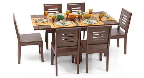 CAPRA DINING SET 6 SEATER